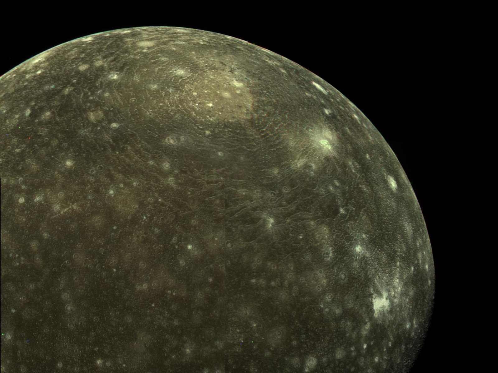 Callisto Moon Surface Callisto Moon of Jupiter