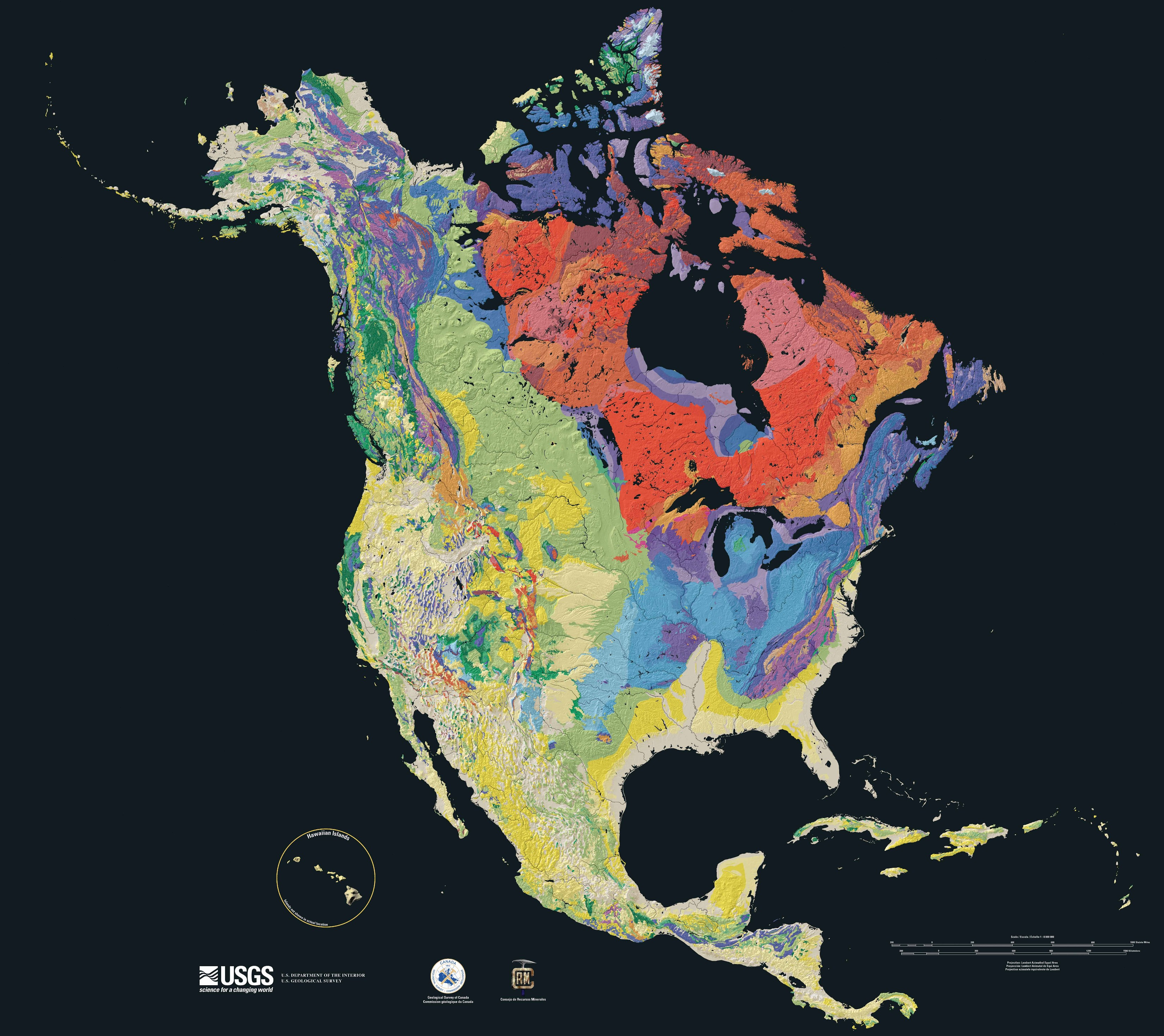 Index Of LibraryImagesSlideshowsGalleryMaps - Colorful map of watersheds in us