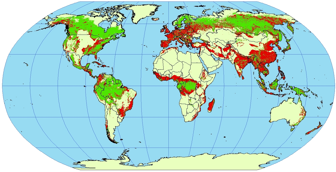 Image Gallery deforestation maps